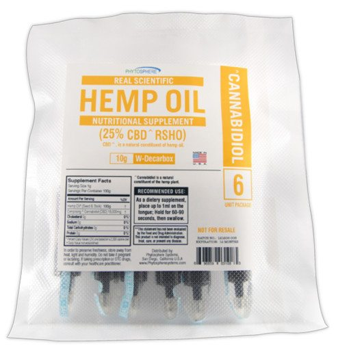 RSHO CBD Hemp Oil Gold Label 60g