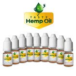Tasty Hemp Oil CBD Vape Oil Refill Sample Pack