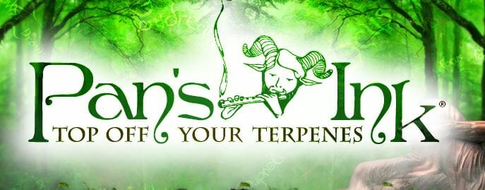 pans ink custom terpene blends logo