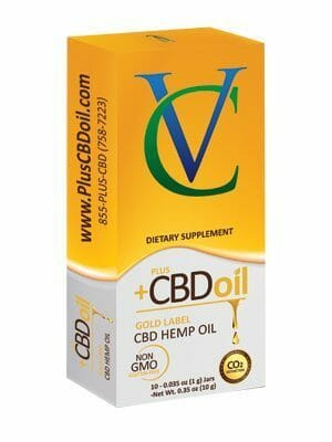 Plus CBD Oil 10g gold - CBD Hemp Oil