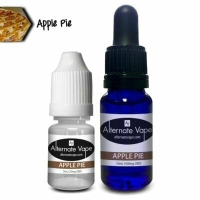 ALT VAPE CBD E LIQUID SILVER BLEND APPLE PIE