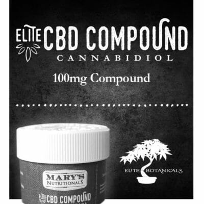 Mary's Nutritionals Elite CBD Compound