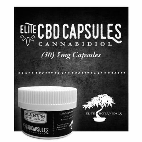 Mary's Nutritionals Elite CBD Capsules