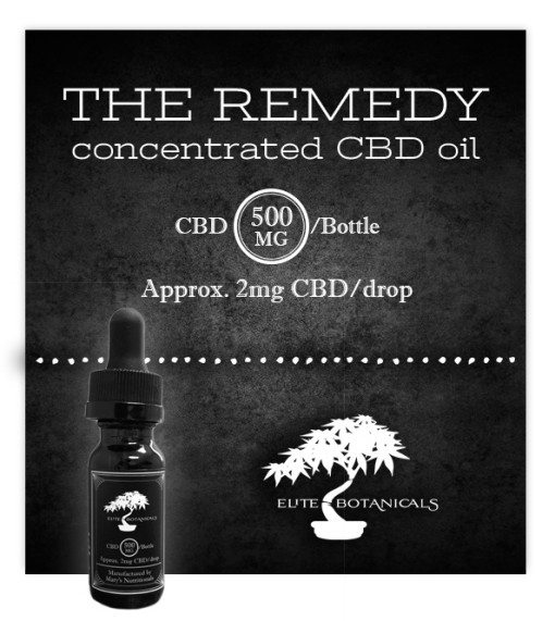 Mary's Nutritionals Elite CBD The Remedy