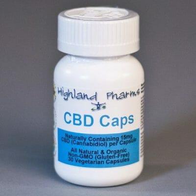 highland pharms cbd hemp oil capsules