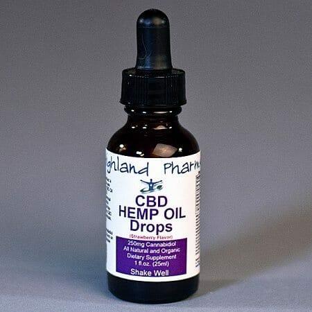 highland pharms cbd oil drops