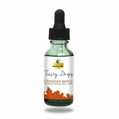 Tasty CBD Drops 1oz Canadian Maple
