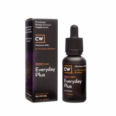 cw botanicals everyday plus olive oil drops 500 1oz