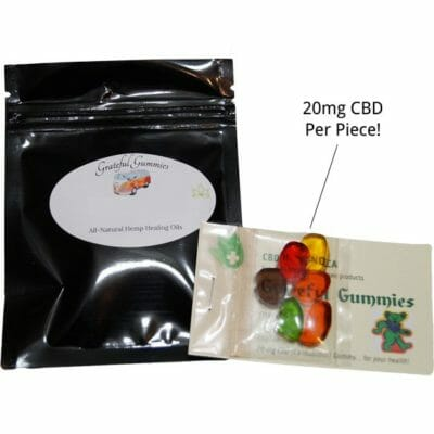 Grateful Gummies 20mg CBD Per Piece