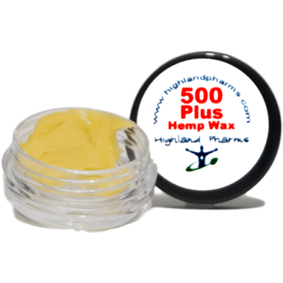 Highland pharms 500 hemp plus wax
