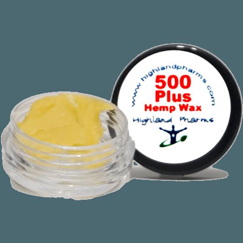 Highland pharms 500 hemp plus wax