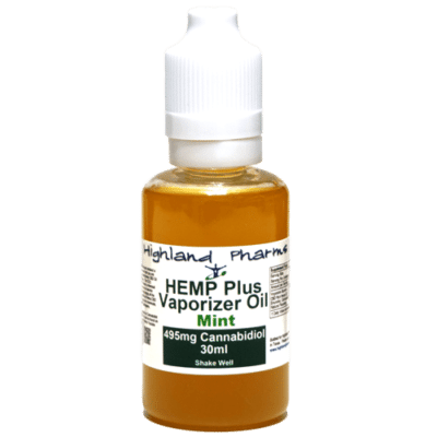 Highland Pharms CBD Vape Oil 30ml Mint Flavor